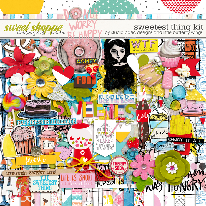 Sweetest Thing Kit by Studio Basic and Little Butterfly Wings