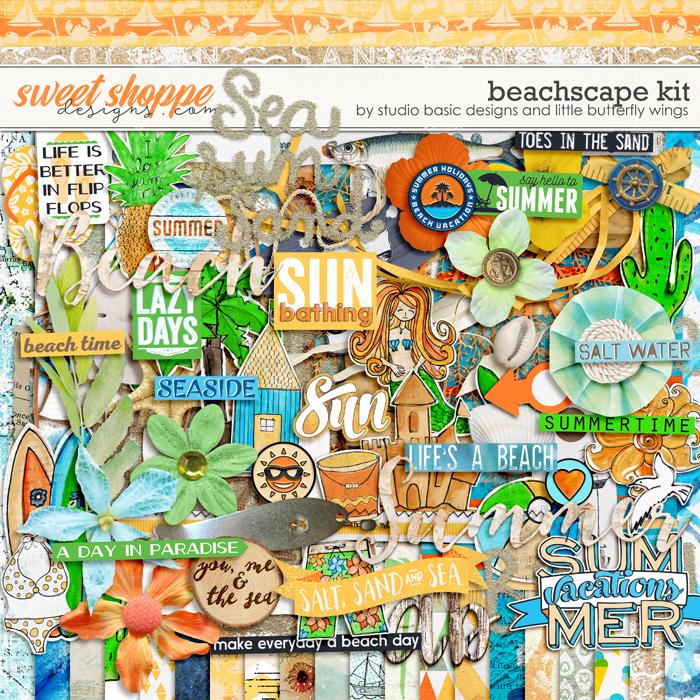 Beachscape Kit by Studio Basic Little Butterfly Wings