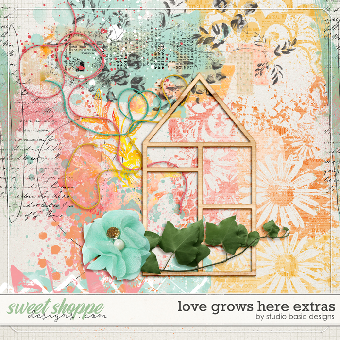 Love Grows Here Extras by Studio Basic