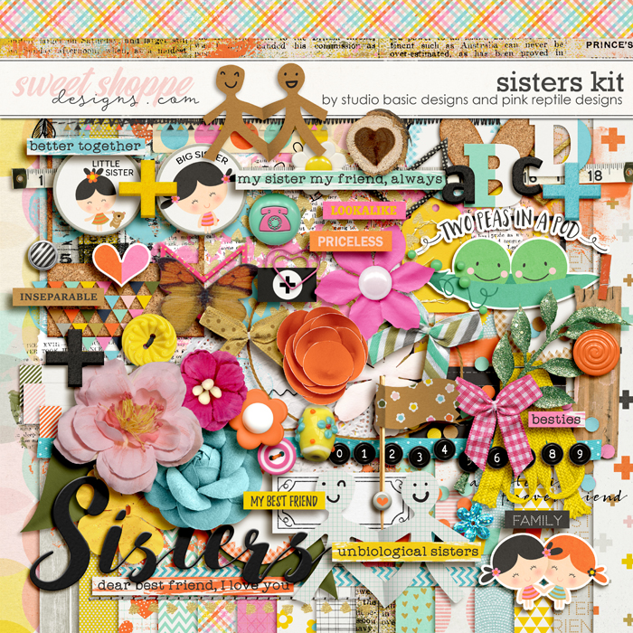 Sisters Kit by Studio Basic and Pink Reptile Designs