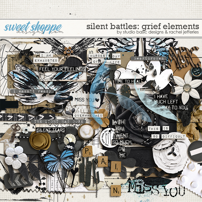 Silent Battles: Grief - Elements by Studio Basic Designs & Rachel Jefferies