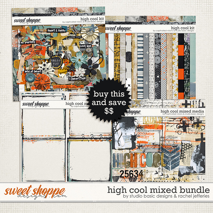 High Cool Bundle by Studio Basic and Rachel Jefferies