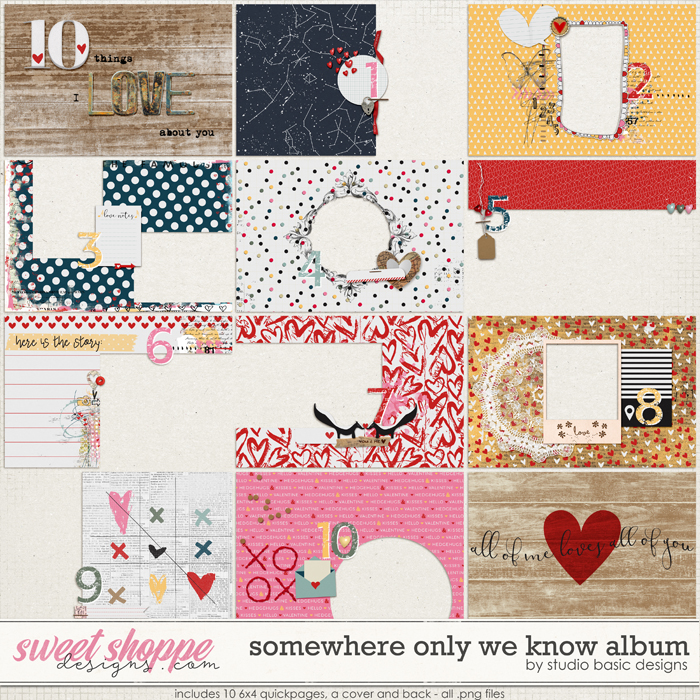 Somewhere Only We Know Album by Studio Basic