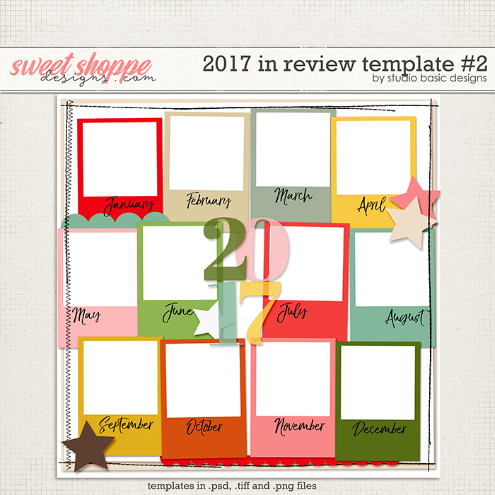 2017 In Review Template #2 by Studio Basic