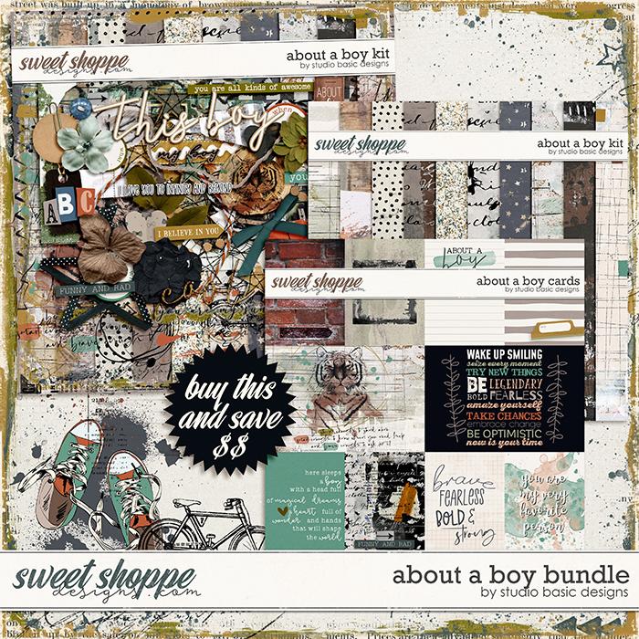 About a Boy Bundle by Studio Basic