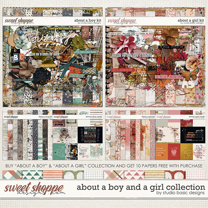 About a Boy | About a Girl Collection by Studio Basic