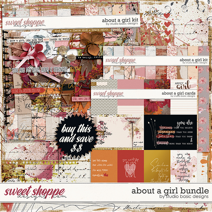 About a Girl Bundle by Studio Basic