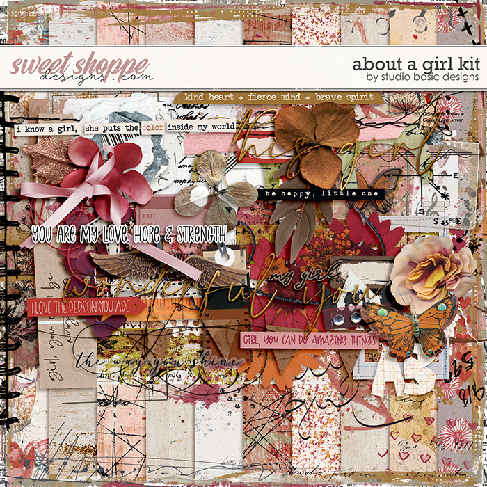 About a Girl Kit by Studio Basic