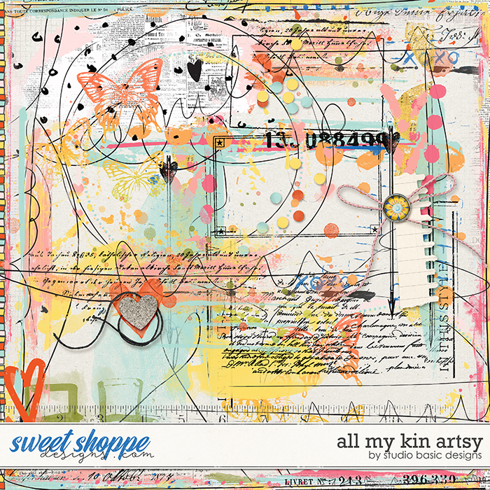 All My Kin Artsy by Studio Basic