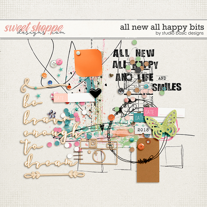 All New All Happy Bits by Studio Basic