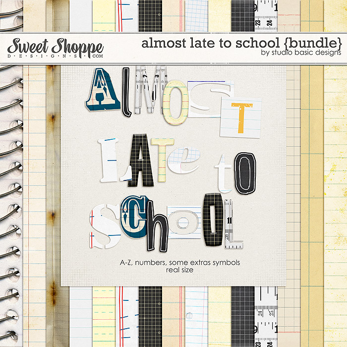 Almost Late To School {bundle} by Studio Basic