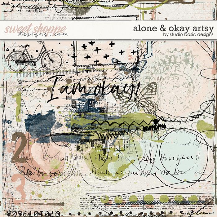 Alone & Okay Artsy by Studio Basic