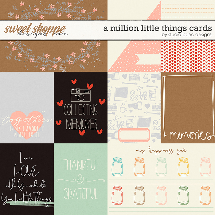A Million Little Things Cards by Studio Basic