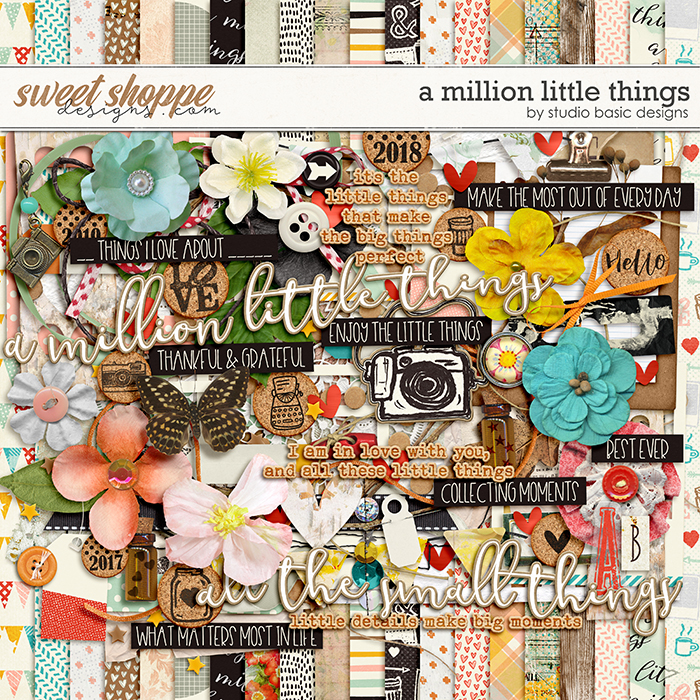 A Million Little Things Kit by Studio Basic