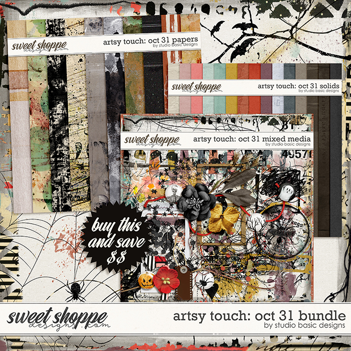 Artsy Touch: Oct 31 Bundle by Studio Basic
