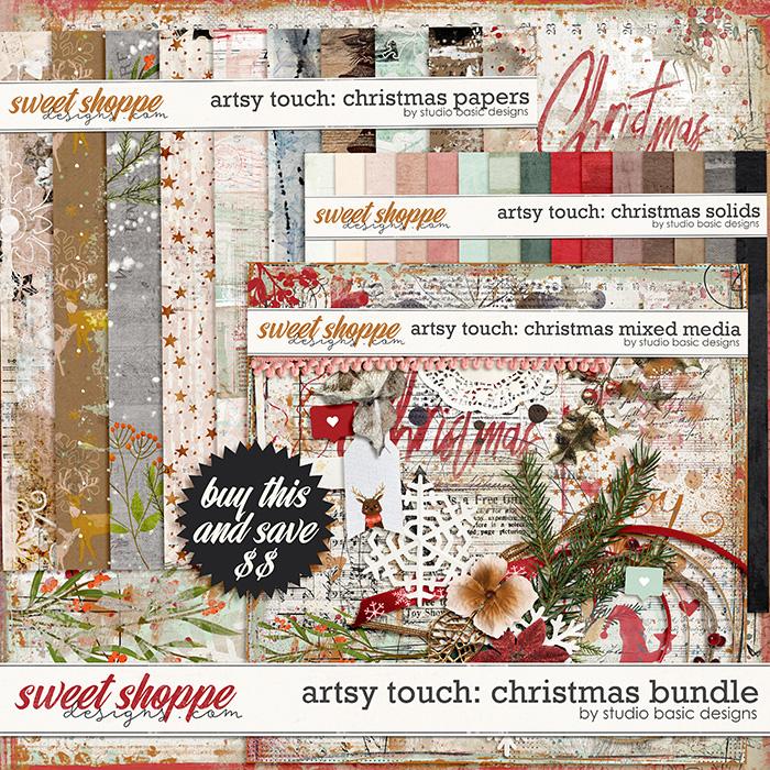 Artsy Touch: Christmas Bundle by Studio Basic