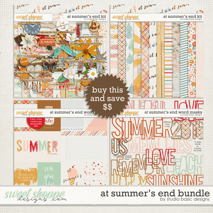 At Summer's End Bundle by Studio Basic