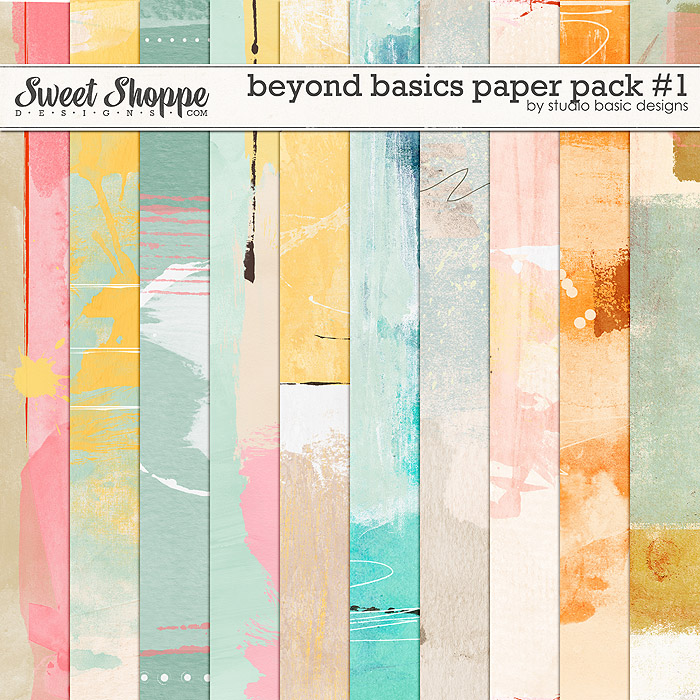 Beyond Basics Paper Pack #1 by Studio Basic