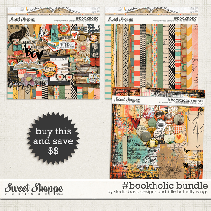 #bookholic Bundle by Studio Basic and Little Butterfly Wings