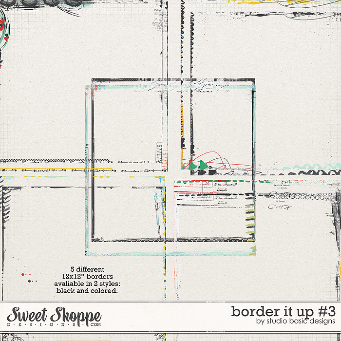 Border It Up #3 by Studio Basic