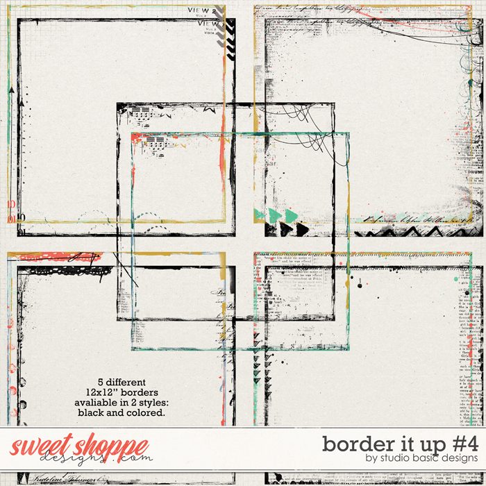 Border It Up #4 by Studio Basic