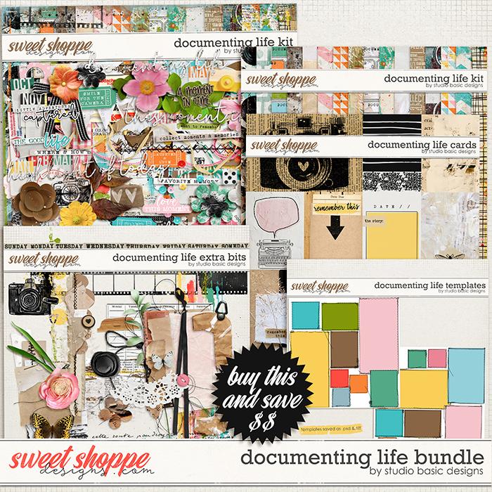 Documenting Life Bundle by Studio Basic