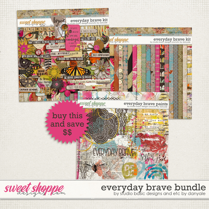 Everyday Brave Bundle by Studio Basic and Etc. by Danyale