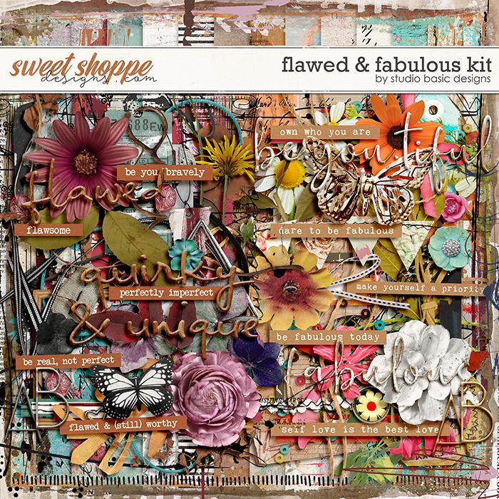 Flawed & Fabulous Kit by Studio Basic