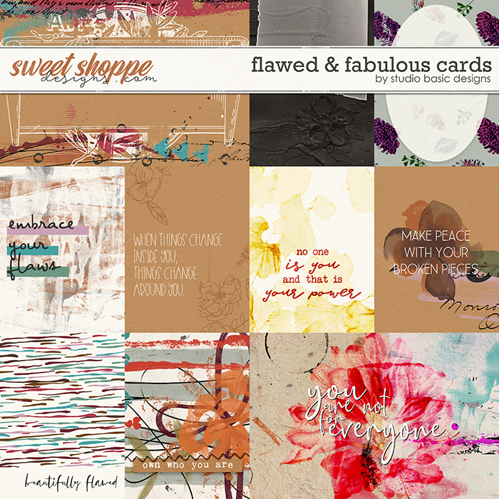 Flawed & Fabulous Cards by Studio Basic