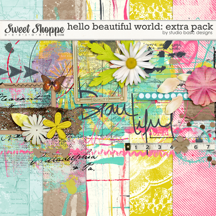 Hello Beautiful World: Extra Pack by Studio Basic