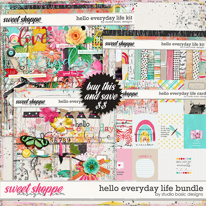 Hello Everyday Life Bundle by Studio Basic