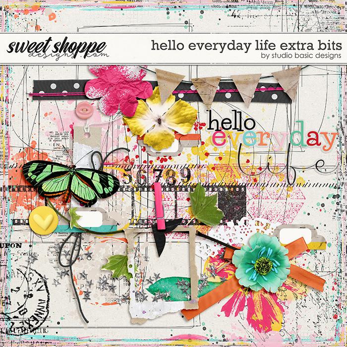 Hello Everyday Life Extra Bits by Studio Basic