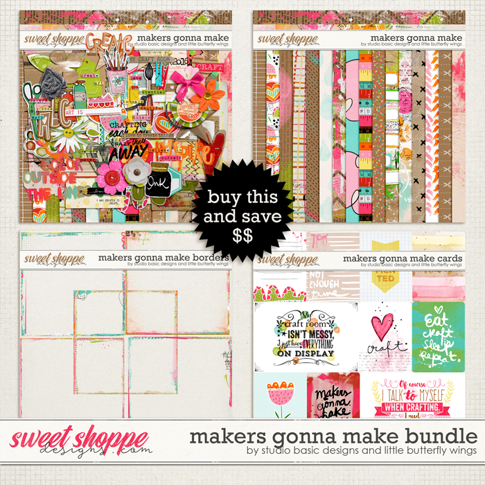 Makers Gonna Make Bundle by Studio Basic and Little Butterfly Wings