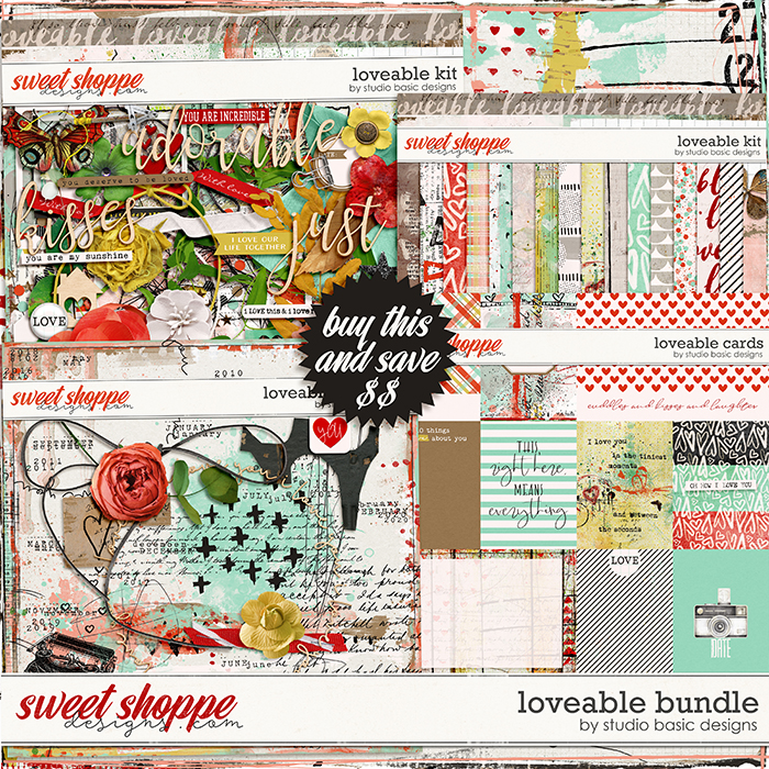 Loveable Bundle by Studio Basic