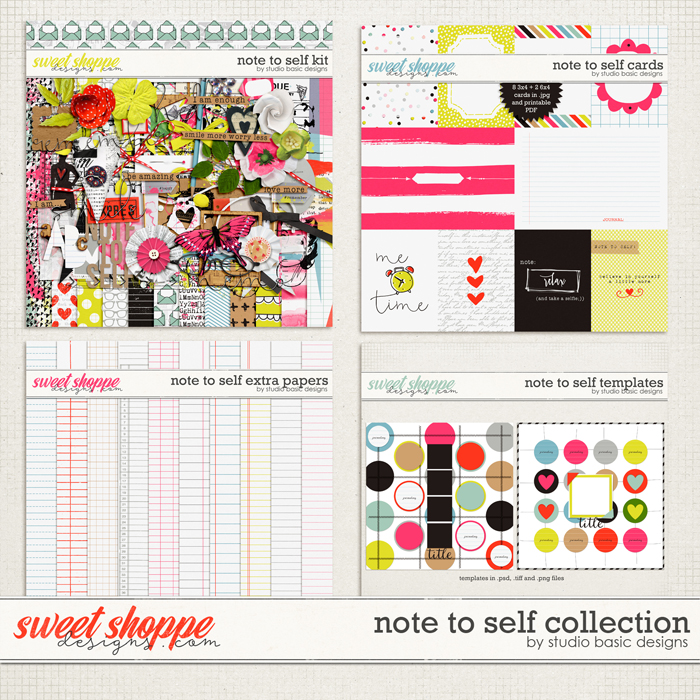 Note To Self Collection by Studio Basic