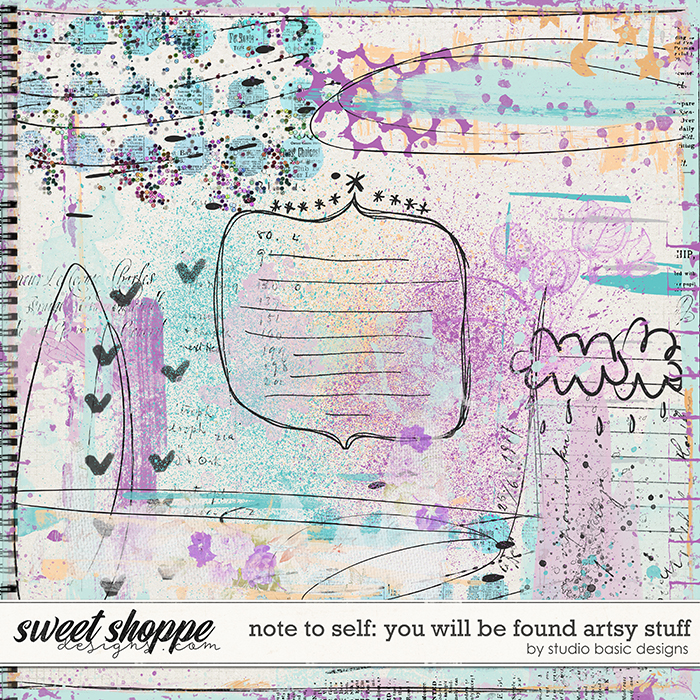 Note To Self: You Will Be Found Artsy Stuff by Studio Basic