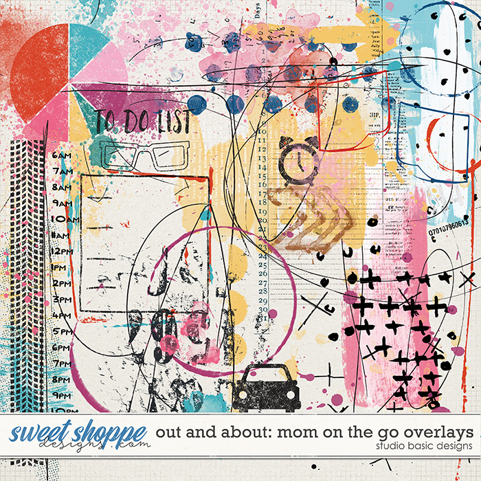 Out And About: Mom On The Go Overlays by Studio Basic Designs