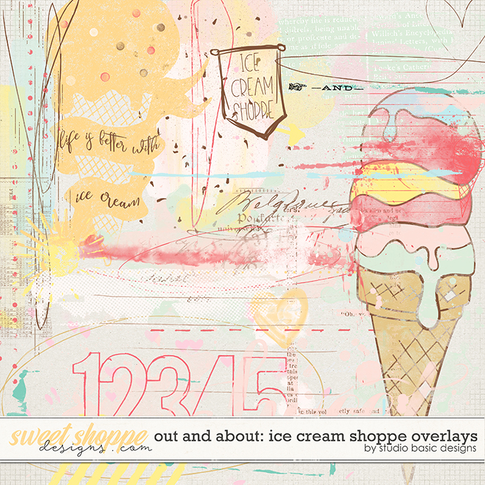 Out And About: IceCream Shoppe Overlays by Studio Basic Designs