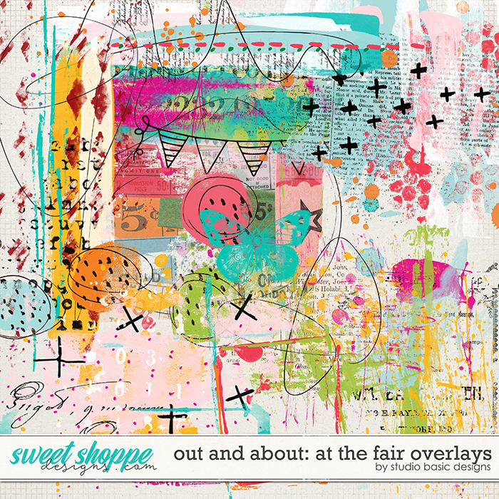 Out and About: At the Fair Overlays by Studio Basic