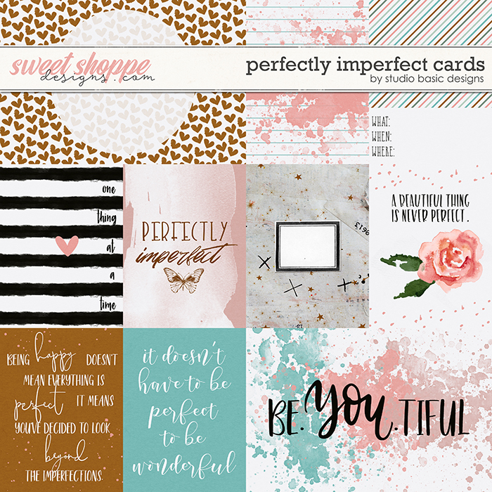 Perfectly Imperfect Cards by Studio Basic