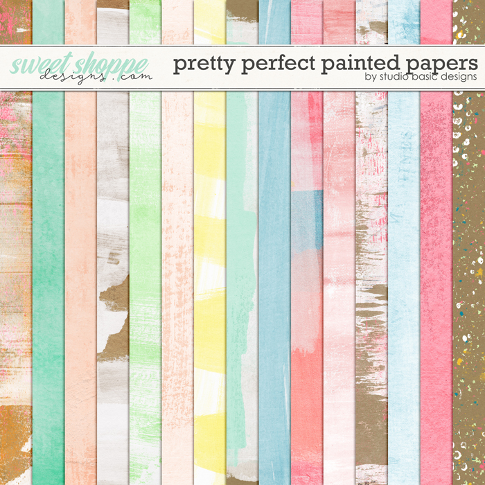 Pretty Perfect Paper Pack by Studio Basic
