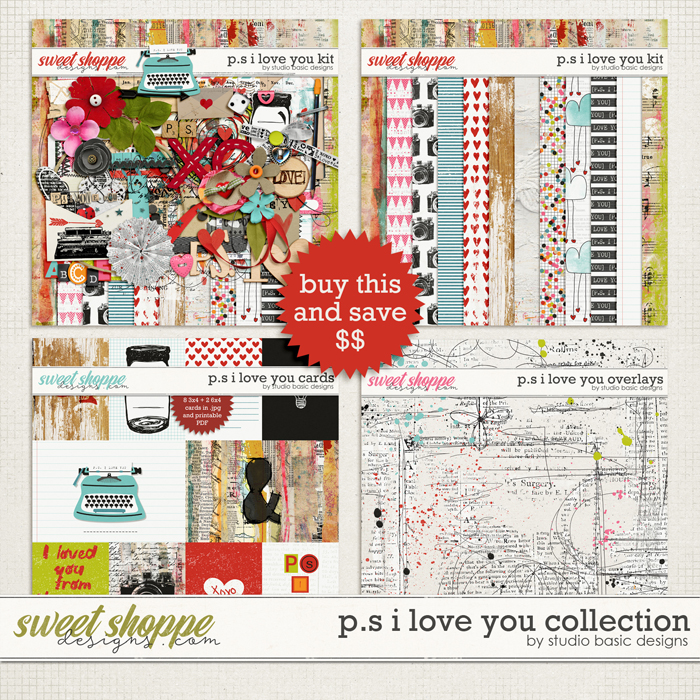 P.S. I Love You Collection by Studio Basic