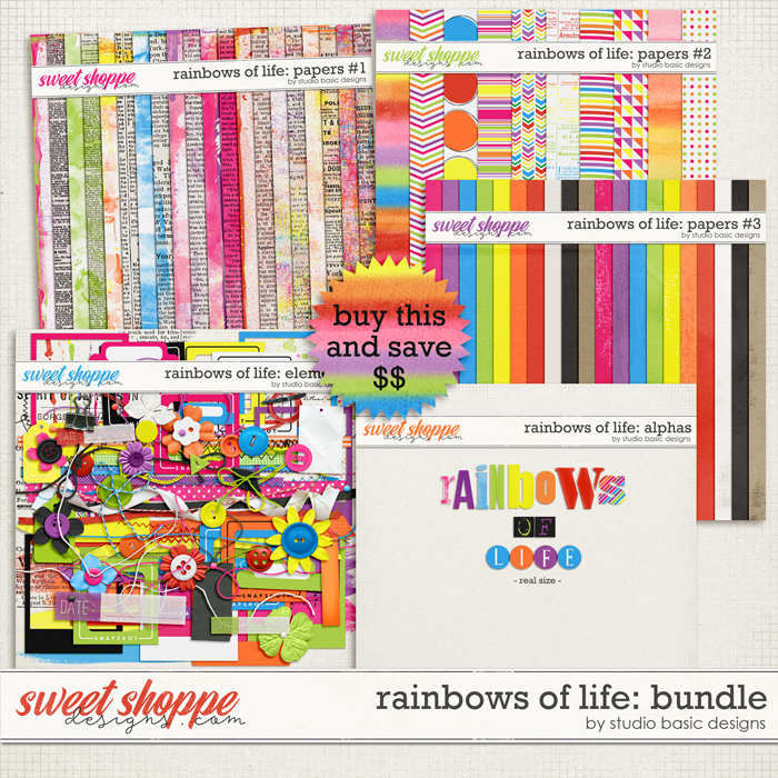 Rainbows Of Life: Bundle by Studio Basic