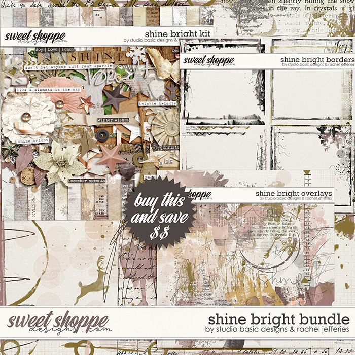 Shine Bright Bundle by by Studio Basic Designs & Rachel Jefferies