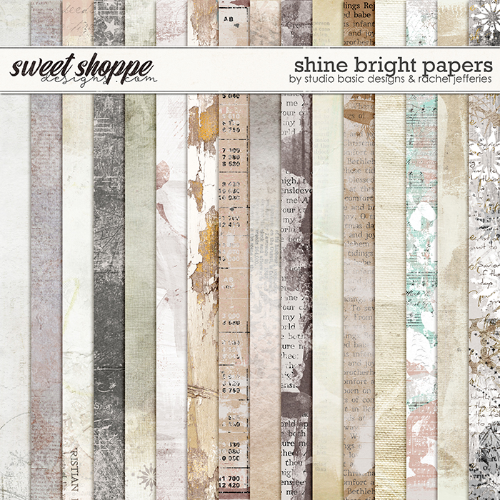 Shine Bright Papers by by Studio Basic Designs & Rachel Jefferies