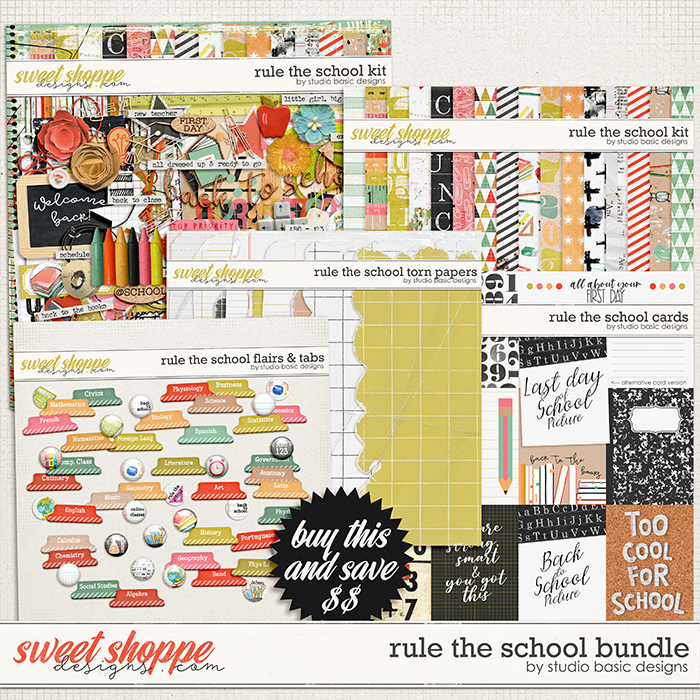 Rule The School Bundle by Studio Basic