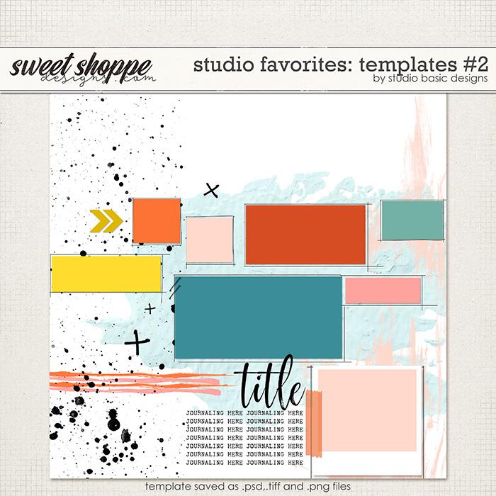 Studio Favorites: Templates #2 by Studio Basic