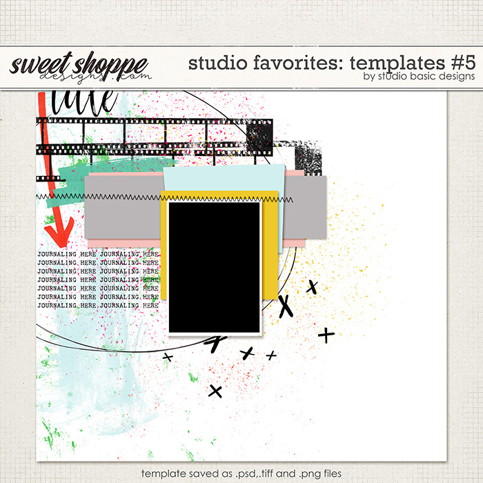 Studio Favorites: Templates #5 by Studio Basic