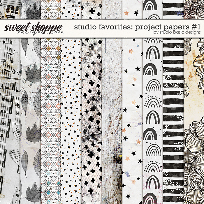 Studio Favorites: Project Papers #1 by Studio Basic