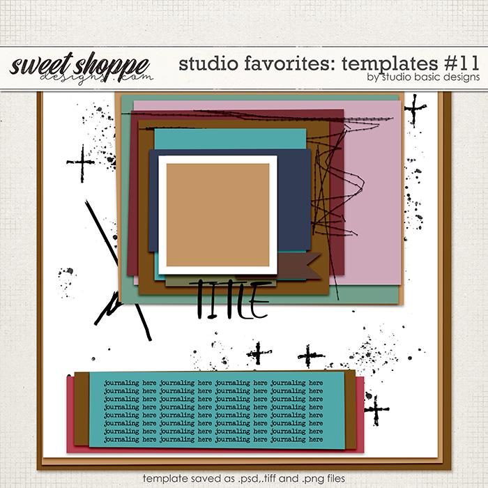 Studio Favorites: Templates #11 by Studio Basic